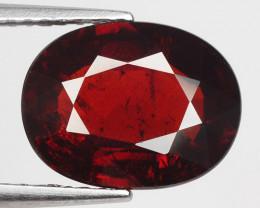 3.94 Ct Spessartite Garnet Pure Red Gem Quality Gemstone SG4