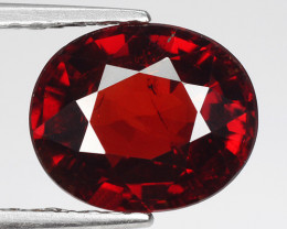 2.67 Ct Spessartite Garnet Pure Red Gem Quality Gemstone SG5
