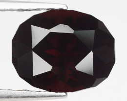3.45 Ct Spessartite Garnet Pure Red Gem Quality Gemstone SG8