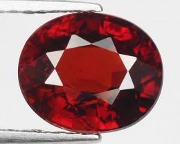 3.08 Ct Spessartite Garnet Pure Red Gem Quality Gemstone SG9