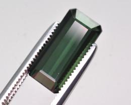 Marvelous Color 3.60 Ct Natural Greenish Tourmaline