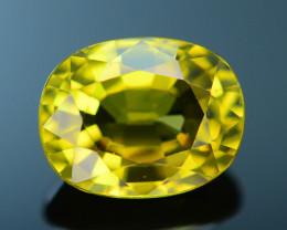 AIG Certified Top Garde 1.47 ct Chrysoberyl Amazing Color Change
