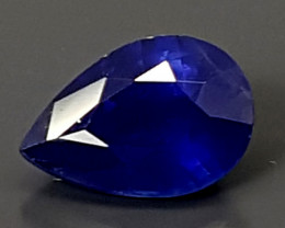 0.70CT CEYLON BLUE SAPPHIRE  BEST QUALITY GEMSTONE IGC33