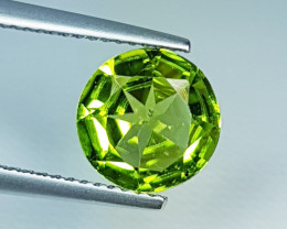"2.23 ct "" Breathtaking Gem "" Top Luster Round Cut Natural  Perido"