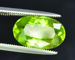 AAA Color 4.70 ct Peridot ~ Pakistan