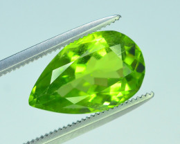 AAA Color 4.05 ct Peridot ~ Pakistan