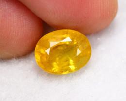2.70cts Natural Vivid Yellow Sapphire
