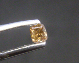 0.16ct Fancy Brown Diamond , 100% Natural Untreated
