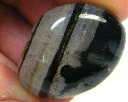 NATURAL CRUDE AGATE PEBBLE 53.20 CTS SGS 399