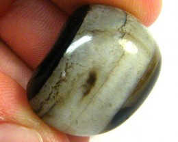 NATURAL CRUDE AGATE PEBBLE 39.35 CTS SGS 400