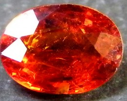PLEASING TO THE EYE SPARKLING SPESSARTITE 1.25 CT SGS 493