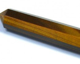 HEALING TOOL TIGER EYE GEMSTONE WAND 440 CTS SGS 517