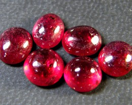 VS GRADE PIGEON BLOOD RED RUBIES CABOCHON LOT 10CT RM 463