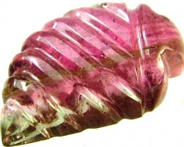 TOURMALINE CARVING-WELL POLISHED -STUNNING 5.8 CTS [S4213]