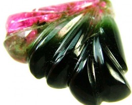 TOURMALINE CARVING-WELL POLISHED -STUNNING 9.4 CTS [S4236]