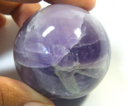 AMETHYST ROUND STONE BALL 562.10 CTS SGS 583