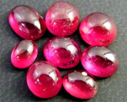 SUPERB QUALITY VS GRADE RED BLOOD RUBIES 10 CT RM 484
