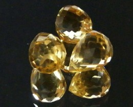 AAAA FLAWLESS GOLDEN YELLOW TOPAZ PARCEL 9.15 CTS SGS 676