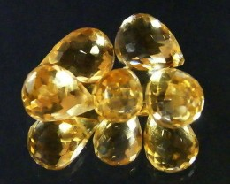 AAAA FLAWLESS GOLDEN YELLOW TOPAZ PARCEL 17.80 CTS SGS 677