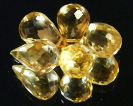 AAAA FLAWLESS GOLDEN YELLOW TOPAZ PARCEL 14.70 CTS SGS 680