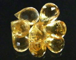 AAAA FLAWLESS GOLDEN YELLOW TOPAZ PARCEL 13.50 CTS SGS 681