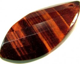 TIGER EYE RED -DRILLED TOP 10.6 CTS [MX1754]