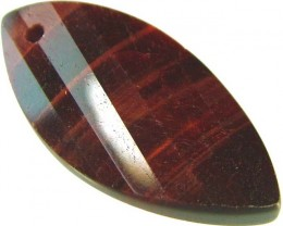 TIGER EYE RED -DRILLED TOP 10.9 CTS [MX1755]