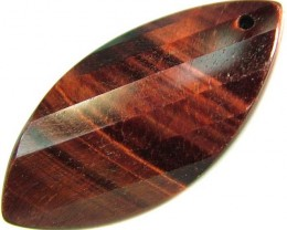 TIGER EYE RED -DRILLED TOP 12.3 CTS [MX1757]