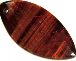 TIGER EYE RED -DRILLED TOP 12 CTS [MX1758]