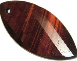 TIGER EYE RED -DRILLED TOP 11.3 CTS [MX1761]