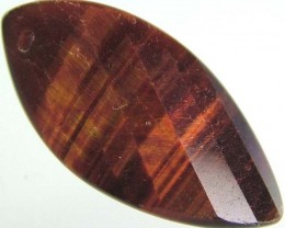 TIGER EYE RED -DRILLED TOP 12.4 CTS [MX1762]