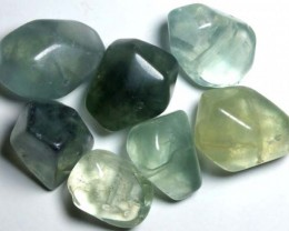 CHINESE JADE STONE DRILLED (7PC) 197CTS NP-558