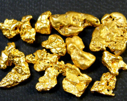 PARCEL AUSTRALIAN  GOLD NUGGET  7.32 GRAMS  LGN 410