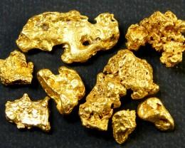 PARCEL AUSTRALIAN  GOLD NUGGET 7.34  GRAMS  LGN  413