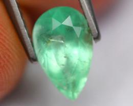 1.19Ct Natural Neon Green Colombian Muzo Emerald~ B19/2