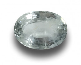 Natural Unheated White Sapphire|Loose Gemstone|New| Sri Lanka