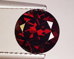"""2.38ct """"AAA Grade Gem"""" Round Cut Natural Rhodolite Garnet"""