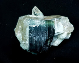 192 Ct Natural Tourmaline With Quartz Rough Specimen
