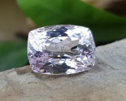 8.95 Ct Natural Very Light Pink Kunzite Gemstone