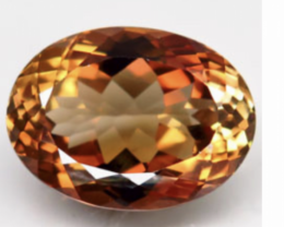13.50 IF - LIKE  IMPERIAL TOPAZ/100% Natural from BRASIL
