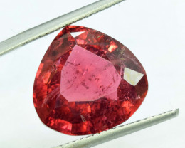 15.50 Carats Natural Trillion Cut Rubellite Tourmaline Gemstone