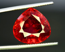 15.50 Carats Natural Trillion Cut Rubellite Tourmaline Gemstone