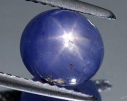 4.71Cts Untreated Six rays Blue star sapphire Ceylon