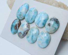 170cts Rare larimar cabochon beads healing gemstone wholesale (A646)