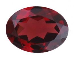 1.37 ct Reddish Brown Oval Garnet
