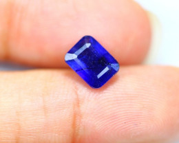 2.50Ct Blue Sapphire Composite Octagon Cut Lot LZB434