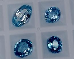 5.35CT BLUE ZIRCON PARCEL  BEST QUALITY GEMSTONE IGC34