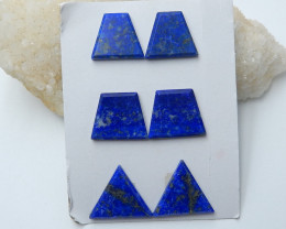 138cts Wholesale natural lapis lazuli cabochon healing stone (A660)