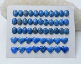 122cts New arrival natural apatite oval heart cabochon healing stone (A642)