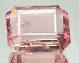 5.80 Cts Natural Pink Tourmaline Octagon Cut Mozambique